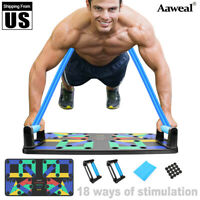 Complete Push Up Rack Board 18/9 In 1 Body Building Fitness Exercise Tools Men