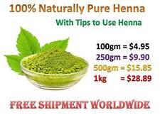 Pure Natural Indian Henna Mehndi Powder Hair Dye Color 100gm Open Henna Powder