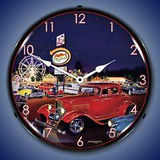 Sammys Playland Wall Clock, LED Lighted: Bruce Kaiser
