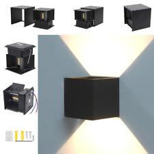 Applique Murale LED Noir Extérieur Intérieur Jardin