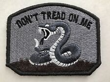 Don't Tread on Me DTOM Embroider Tactical Army Snake ISAF ACU Hk/Lp Morale Patch
