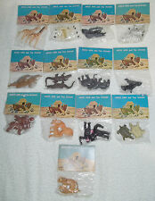 ARCO Noahs Ark Vintage Animal Pair Lot Of 13 Different Ones New In Original Bags