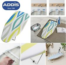 ADDIS TABLE TOP IRONING BOARD WITH COVER FOLDABLE PORTABLE COMPACT IRON TABLE