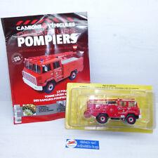Hachette 1:43 | Berliet FF 6x6 Pompier - De Safeurs Pompiers 128 Ixo Fire Engine