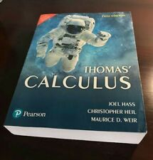 Thomas' Calculus 14th Edition by Joel Hass, Christopher Heil, and Maurice Weir