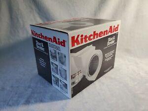 Kitchen Aid Slicer & Shredder Attachment - White - New