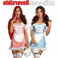 Dreamgirl Happily Ever After Reversible Womens Costume Sz M, New! Free Shipping!