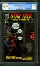 Star Trek 18 New Visions CGC 9.9 up 9.8 MAD 1 Byrne Photo Homage ONLY 200 made