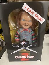 "Chucky Action Figure 15"" Childs Play Talking Menacing Chucky Doll Mezco"
