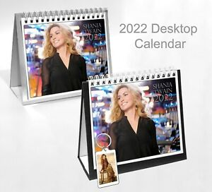 Shania Twain 2022 Office Desktop Holiday Calendar + Key ring