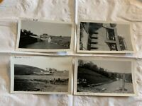 4 Original 1936 Photos Building the Charles Mill Dam, Mifflin Ohio Mohican river