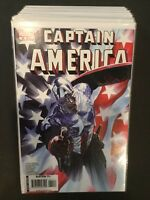 Captain America (5th Series) 37 Books, #s 10, 25-50, 600-604 & 4 One Shots
