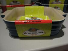 """Solid Blue Le Creuset 5"""" Square Baking Dish Freezer to Oven"""