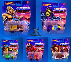 Hot Wheels Masters De Universe Charakterautos Caractère Cars 1:64 (Séléction)