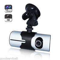 "Car DVR Recorder Full Hd 1080P Dash Cam 2.7"" LCD Screen Dual Camera 5MP with GPS"