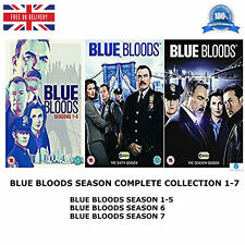 BLUE BLOODS Season 1-7 Complete Series 1 2 3 4 5 6 7 + Bonus Features New UK DVD