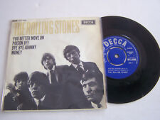 EP 4 TITRES VINYLE 45 T , THE ROLLING STONES ,YOU BETTER MOVE ON  . VG  / VG -