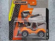 MATCHBOX 2014 #025/120 MBX TKT + ARANCIONE TRATTORE SPAZZANEVE COSTRUZIONE
