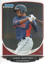 2013 Bowman Chrome Prospects Baseball #BCP145 Jorge Martinez