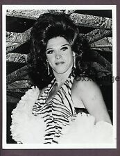 Gay Burlesque Male Stripper Drag Queen 1960 ORIGINal PHOTO Interest C355