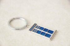 Tardis Keychain Doctor Who Keychain Dr Who Inspired Tardis Key ring Dr. Who Gift
