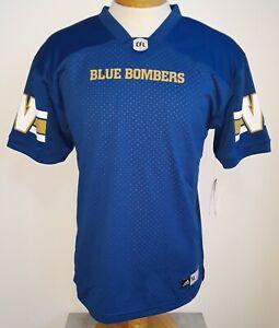 Adidas WINNIPEG BLUE BOMBERS Home CFL Boys Jersey XL