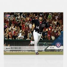 2018 TOPPS NOW #421 PINCH-HIT, WALK-OFF HR IN THE NINTH SEALS WIN MARK REYNOLDS