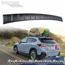 For Subaru 5D Wagon XV Crosstrek Rear Bumper Cover Protector Step Plate Trim 18+