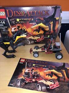 Lego Dino Attack Urban Avenger vs. Raptor (7474) 100% Complete