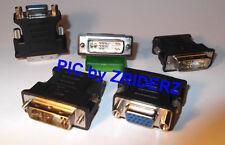DVI-A (12+5pol) auf VGA Adapter