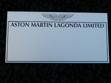 Aston Martin Badge / Tread Plate