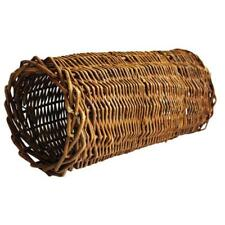 Nature First Small Willow Tube Climb Hide and Nibble Fun for Hamsters & Gerbils