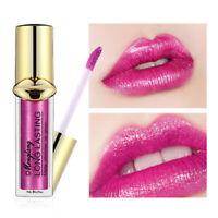 AU_ Menglang Waterproof Pearlescent Lip Gloss Long-lasting Moisturizer Lipstick