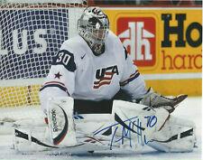 Team USA Thomas McCollum Signed Autographed 8x10 Photo COA A