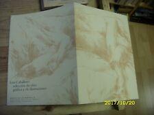 Luis Caballero - Seleccion de obra grafica y de illustraciones - 1998