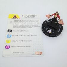 Heroclix Age of Ultron Movie set Scarlet Witch #010 Gravity Feed figure w/card!