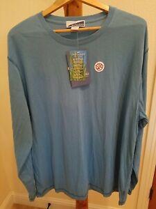 NWT White Sierra Bug-Free Base Layer Insect Shield Shirt Mens 2XL Blue NEW LS