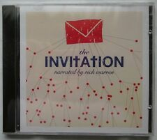 New- THE INVITATION by RICK WARREN (CD) CASTING CROWNS, AMY GRANT, EVAN WICKHAM