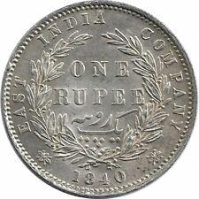 India one rupee victoria english sub - 1840