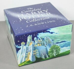 Rare Harry Potter Book Collection Box Set - Original Paperback Full Set (2008)