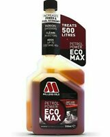 1x Millers Oils PETROL Power Ecomax Fuel Treatment Additive 500ml 0.5L