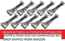 "Quick Screw 6"" inch Aluminum Hidden Rain Gutter Bracket Hook clip style Hangers"