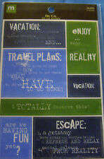NEW 14 pc VACATION Words Ideas Expressions  LIKE IT IS  MAKING MEMORIES Stickers