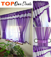 Amazing Stunning Voile Net Curtains Ready Made Bedroom Living Dining Room New