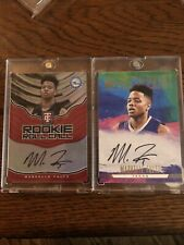2017-18 MARKELLE FULTZ ROOKIE 2 Card Autograph Lot