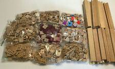 1,000+ Scrabble Tiles & 27 Holders For Arts & Crafts or Replacement Parts USED.
