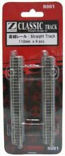 Rokuhan Z Scale R001 110mm Straight Track with Power Feed Point 4 pcs 1/220