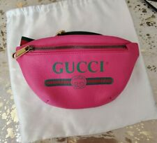 Gucci Belt Bag Fanny Pack waist bag PINK size small 70