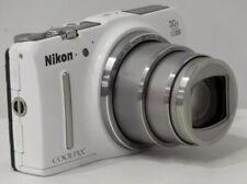 Nikon Coolpix S9700 Point & Shoot digital camera *white *superb
