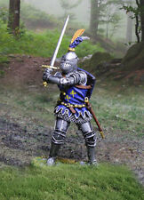 COLLECTORS SHOWCASE AGINCOURT KNIGHTS CS01018 ENGLISH KNIGHT WITH SWORD MIB